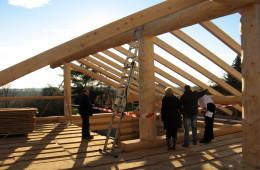 Holzbausätze für Dachstühle, EFH, Carports, Garagen, Vordächer