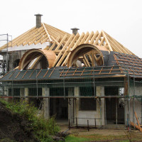 Lieferung von Dachelementen